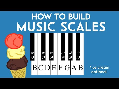How to Build Music Scales – Music Theory Crash Course