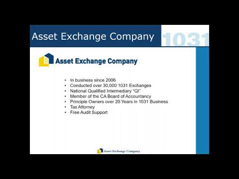 1031 Exchange  Basics with Jeff Stechmann