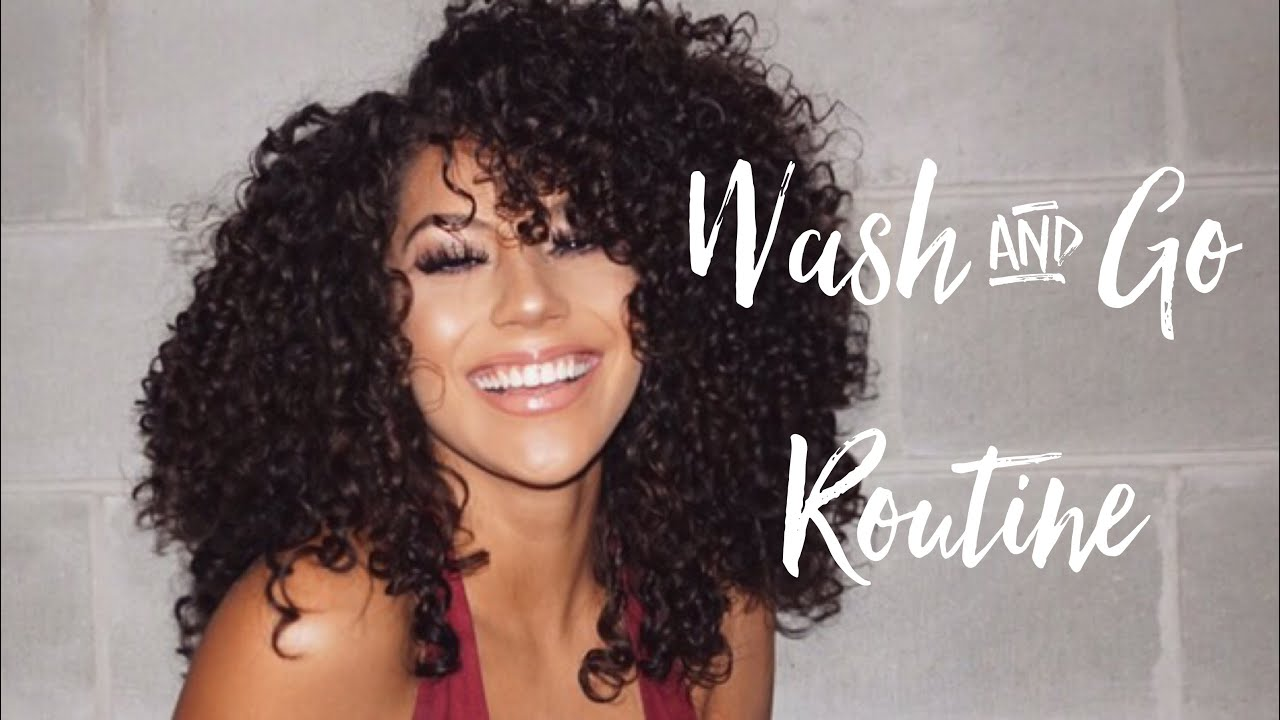 Wash and Go Curly Hair Routine LOC Method
