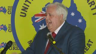 Clive Palmer provides solutions for Australia. Chock-a-block full of content thumbnail