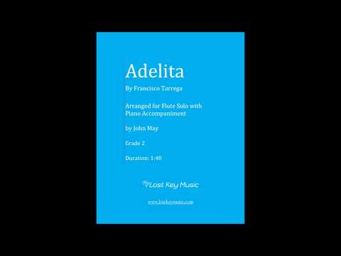 Adelita Flute Solo with Piano Accompaniment