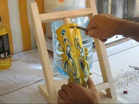Confectionare lumanari sculptate