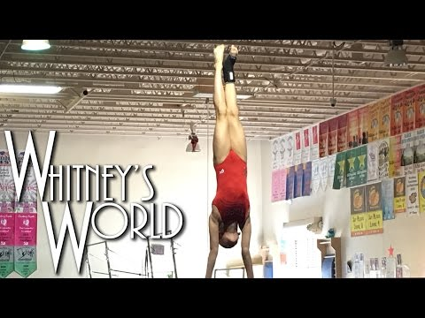 Giant Blind Full Pirouette on Bars | Whitney's New Skill