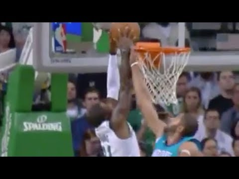 Kyrie Irving Can DUNK!!! Posterizes Nicolas Batum in Preseason Game