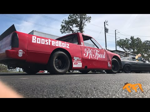 Cleetus and the Boostedboiz rip the K-ole truck! Honda swapped Pro trucks are too fun!