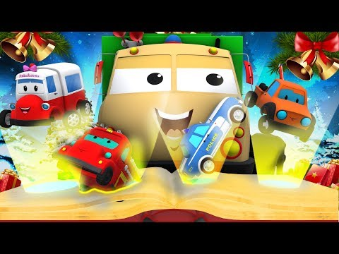 Road Ranger | Morose Frank On A Merry Christmas | Kids Show