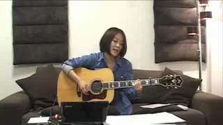 2012/6/24(日) 森恵さんのUSTREAMライブより Megumi Mori is a rising...