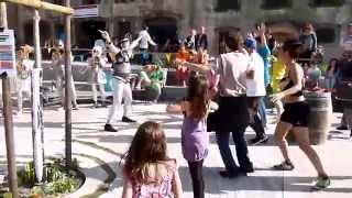 Autan en Fanfare - Fanfare Tractopelle - Gotta go home / Barbra streisand - Aerobic