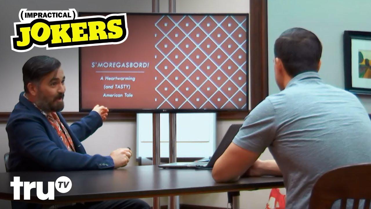 Impractical Jokers - S'moregasbord: Q's American Tale (Clip)   truTV