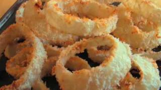 """Oven-fried Onion Rings Aka """"ovenion Rings"""""""