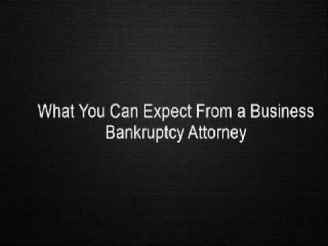 What You Can Expect From a Business Bankruptcy Attorney