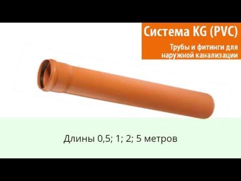 Наружная канализация OSTENDORF KG ПВХ