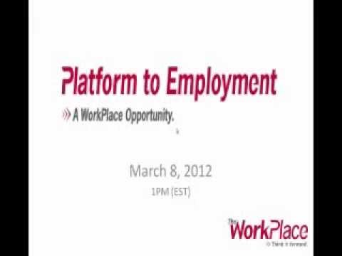Platform to Employment Webinar Part 1.wmv