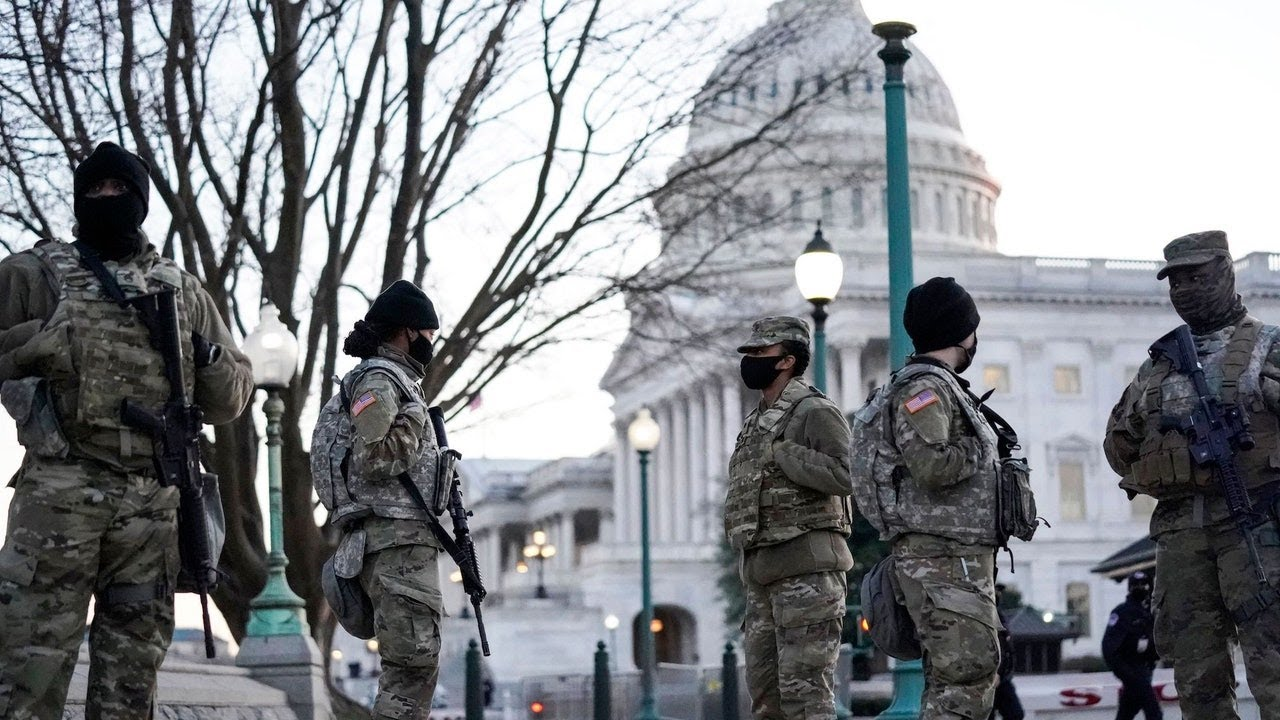 Washington Is Transformed Into a War Zone Ahead of Inauguration