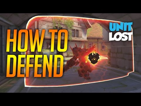 Overwatch Guide - How To Defend - All Defensive Choke Points