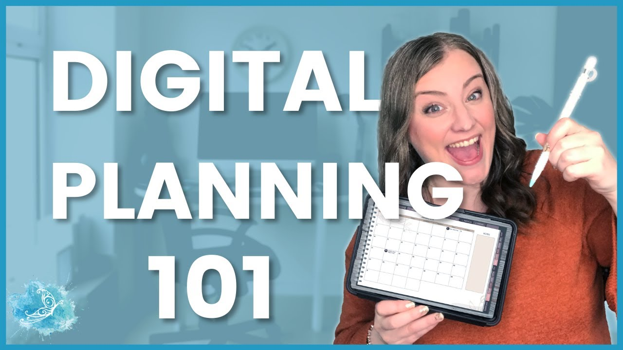 Digital Planning 101: Beginner tutorial with 2021 Digital Planner and GoodNotes 5 on iPad