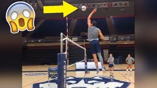 Basketball Player Play Volleyball !? Funny Volleyball Videos (HD)