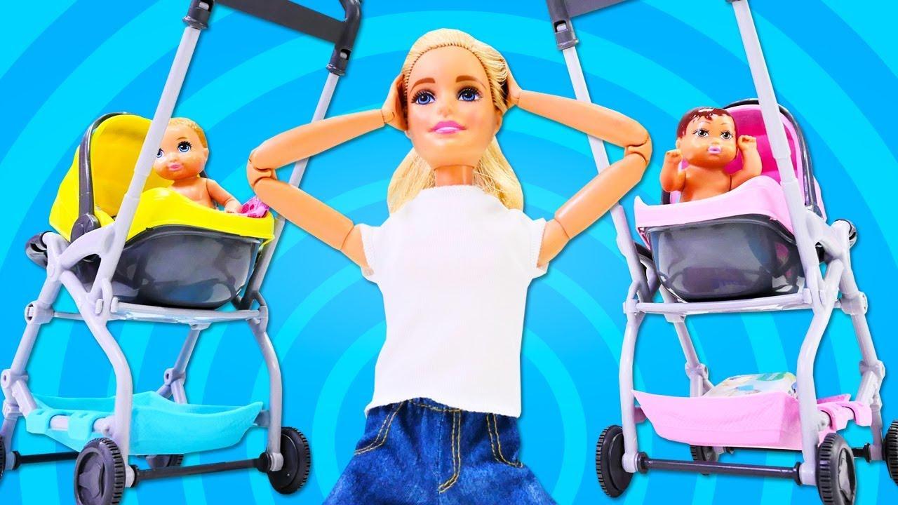 Barbie ile bebek bakma oyunu. Barbie oyunu.