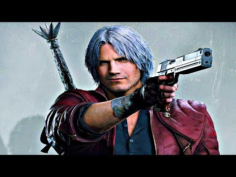 Devil May Cry 5 - Dante Gameplay Devil Trigger, New Weapons, Abilities & Boss Fight