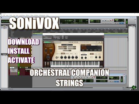 SONiVOX ORCHESTRAL COMPANION STRINGS - DOWNLOAD, INSTALL, ACTIVATE