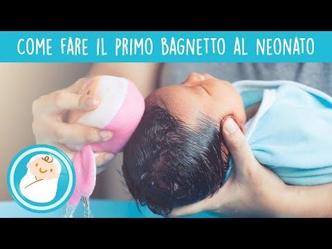 primo bagnetto del neonato i consigli della pedagogista