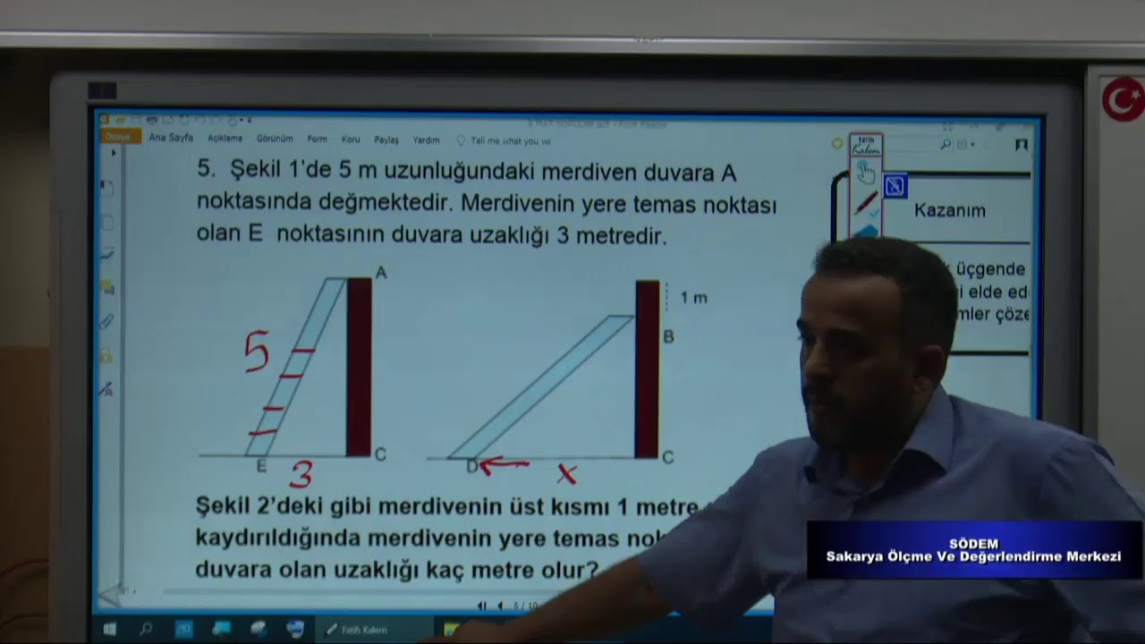 Hazırbulunuşluk Sınavı Canlı Soru Çözümü Matematik 9.Sınıf