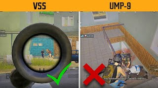 UMP-9 Half Clutch vs Fight with VSS - Which is better ( For Early Fight ) Gamexpro