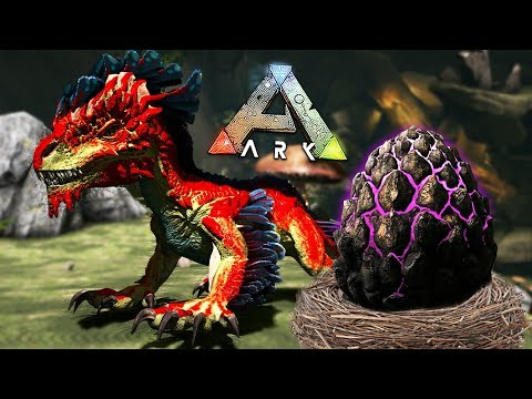 ARK: Survival Evolved - BABY ROCK DRAKE EGG HATCHING & RAISING!! (ARK Aberration)