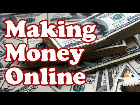 MAKING MONEY ONLINE - Beginners How to guide with Ideas