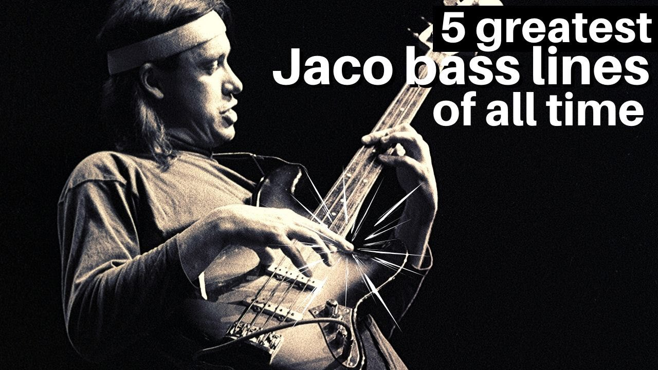 (242) 5 Greatest Jaco Pastorius Bass Lines of All Time - YouTube