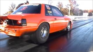 "Steve Jackson ""Stevie Fast"" Killin Time Racing goes 4.19 @ 186 on drag radials"