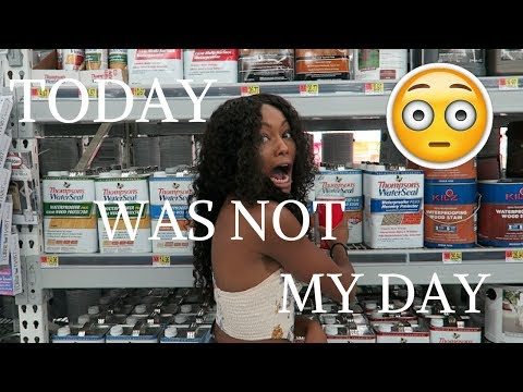 THE TRUE LIFE OF AYANNA ALEXIS: TODAY WAS NOT MY DAY!!!!