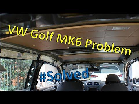Problema Cielo Scollato Golf Mk6 Youtube