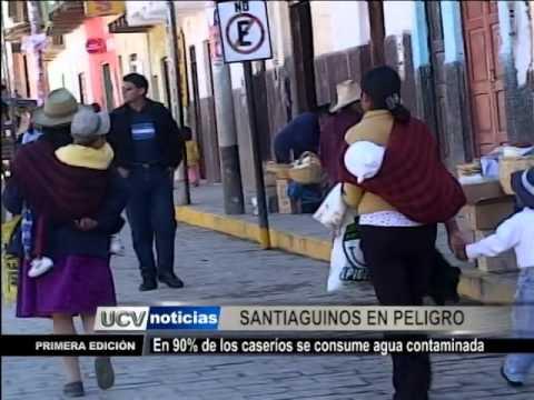 Santiago de Chuco consume agua contaminada
