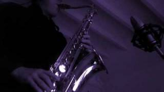 Yesterdays (Jerome Kern) on Tenor Sax