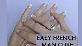 easy french manicure Thumbnail