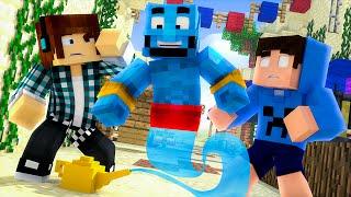 Minecraft : GÊNIO DA LÂMPADA MÁGICA  !! - Aventuras Com Mods #55