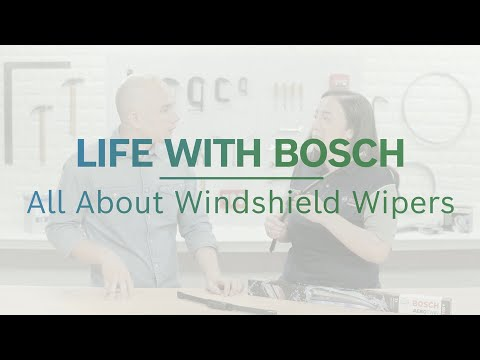 Life With Bosch: Wiper Blades