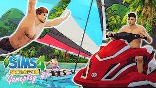🤽 SNORKELING, SAILING, KENALAN SAMA TETANGGA 😍    Island Living #1    The Sims 4 Indonesia