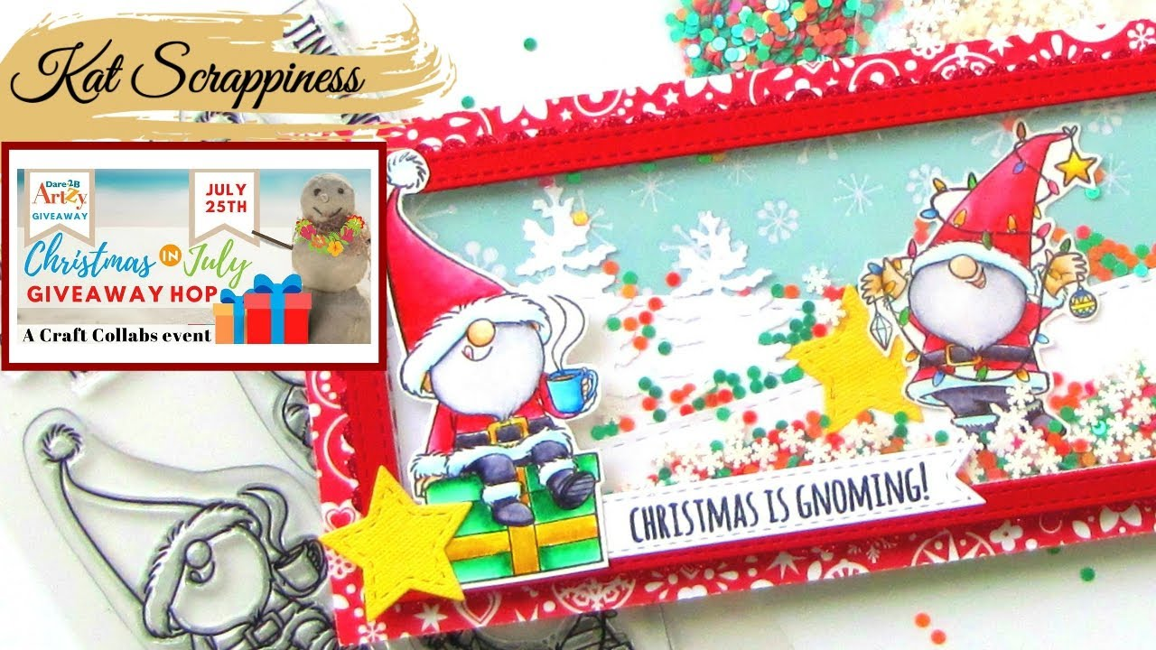 Crafts Collab Christmas in July Giveaway Hop