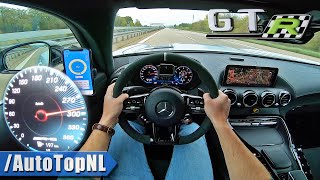 AMG GTR PRO on AUTOBAHN [NO SPEED LIMIT] by AutoTopNL