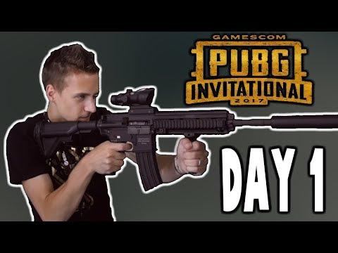 PUBG GAMESCOM INVITATIONAL 2017 - BEST OF DAY 1