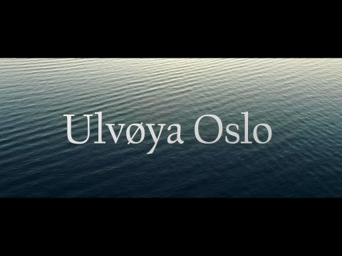 Ulvøya-Oslo/Norway. Drone video.
