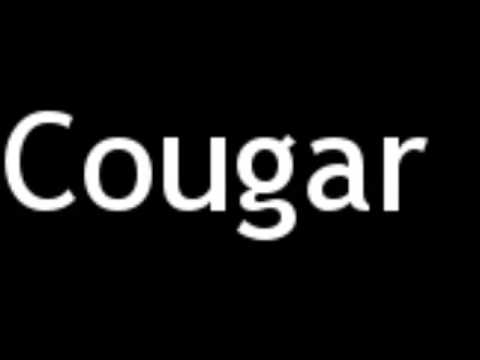 How To Spell Cougar
