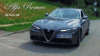 2016 Alfa Romeo Giulia (952) 2.2 JTDm 0-100 km/h Acceleration   Interior   Exterior