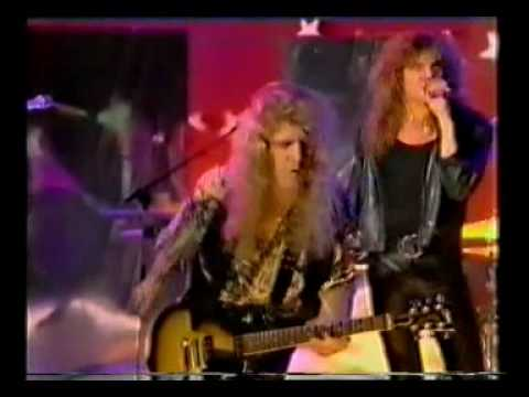 EUROPE - I'll Cry For You - live on tv in 1992