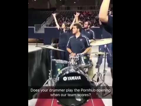 Pornhub Opening on Drums