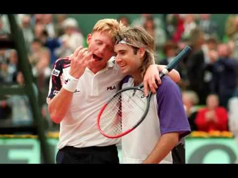 Youngest Men's Champion in the History of Tennis at Wimbledon, Boris Becker