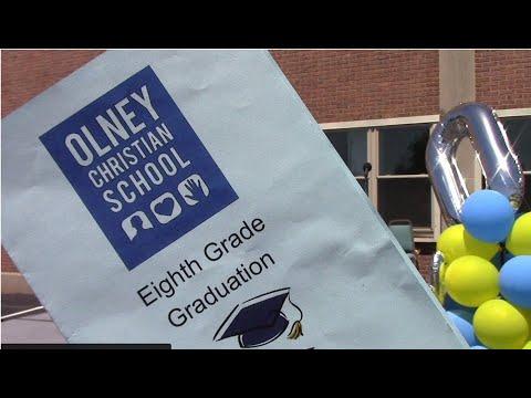 OLNEY Christian School   Eighth Grade Graduation