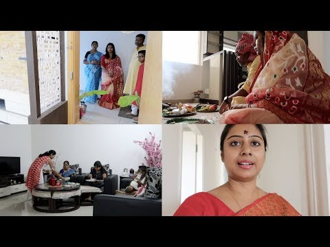 Indian Vlogger Soumali || Grihapravesh In My New House